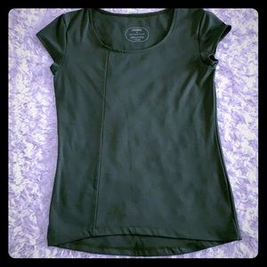 Oiselle Short Sleeve Running Top w High Low